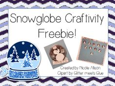 I'm so excited to share what my students have been doing this week-They've been busy glitzing up their vocabulary by creating these glamorous snow globes. The best part? They were completely free t...