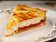 Quiche cu rosii si branza de capra Ovo Vegetarian, Allrecipes, Quiche, Foodies, Sandwiches, Pizza, Cooking Recipes, Cheese, Diet
