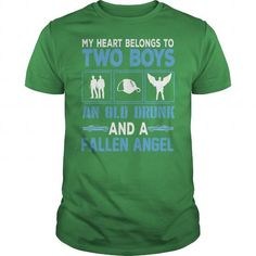 I Love My Heart Belong to Two Boys... Shirts & Tees
