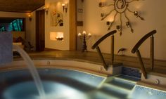 Jacuzzi at The Grand Spa...