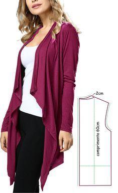 Aswathy priya s 452 media analytics – Artofit Plus Size Shirt Dress, Plus Size Shirts, Slouchy Cardigan, Drape Cardigan, Sweater Cardigan, Dress Sewing Patterns, Clothing Patterns, Plus Size Summer Fashion, Diy Scarf