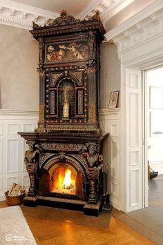 Gothic Victorian Fireplace Check us out on Fb- Unique Intuitions Need home decorating ideas? Darken up your home and get wicked ideas with the most awesome Gothic, Steampunk, Horror, and Victorian Furniture around. Victorian Furniture, Victorian Decor, Victorian Homes, Antique Furniture, Cool Furniture, Modern Furniture, Rustic Furniture, Furniture Ideas, Fireplace Furniture