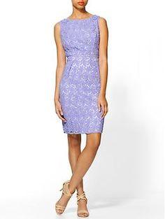 Shoshanna Lace Nyla Sheath Dress