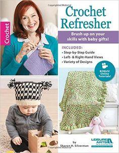 #Crochet Refresher  by Sharon Silverman, book review by Gwen Blakley Kinsler
