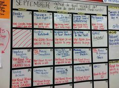 Share Your Calendar - 10 Classroom Procedures to Save Your Sanity