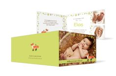Geburtskarte Elias
