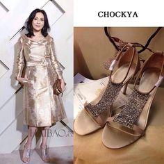 2015刘嘉玲明星同款高跟水钻女凉鞋T字羊皮高跟鞋夏欧美细跟女鞋-淘宝网