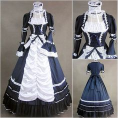 Luxury Gothic Southern Belle Ball Gown Punk Lolita by procosplay