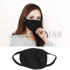 Black-Men-Women-Outdoor-Windproof-Anti-Dust-Cycling-Mouth-Face-Mask-Respirator-Y