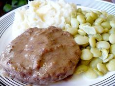 Salisbury Steak in the crock pot. Several friends have raved. We'll see if it passes the picky 4yo test.