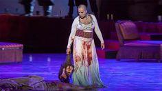 SALOMÉ, DE RICHARD STRAUSS  Una producción del FESTIVAL INTERNACIONAL DE TEATRO CLÁSICO DE MÉRIDA 2014.  REPARTO: Salomé, hija de Herodías: ÁNGELES BLANCAS  Iokanaán, profeta (Juan el Bautista): JOSÉ ANTONIO LÓPEZ  Herodías, esposa de Herodes: ANA IBARRA Herodes, tetrarca de Judea: THOMAS MOSER  Narraboth, capitán de la guardia: JOSÉ MANUEL MONTERO  Paje: MIREIA PINTÓ  Salomé (bailarina): ARANTXA SAGARDOY Iokanaán (actor-bailarín): CARLOS MARTOS  Primer judío: JORGE RODRÍGUEZ NO... Merida, Jorge Rodriguez, Stage, Fashion, Theater, Ballerinas, Actresses, Moda, Fashion Styles