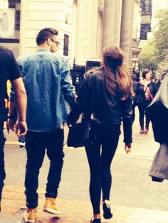 Liam and Sophia in Birmingham today 29.5.14>> I thought they broke up? Whatever Im happy there together