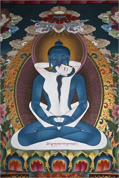 samantabhadra and samantabhadri in yabyum