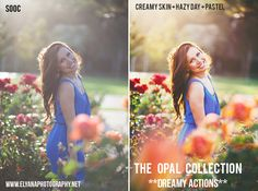 "2 Free Photoshop Actions Here:  http://www.elyanaphotographyblog.com/ Click on ""Freebies"" tab"
