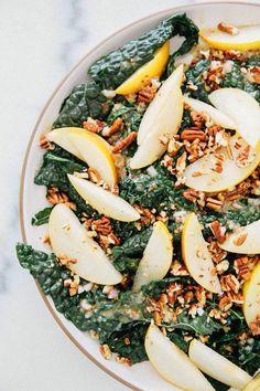 Kale Pears Salad