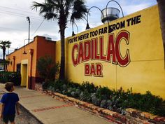 Visit Cadillac Bar in the Houston Heights!