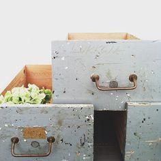 °old wood boxes, 2nd hand find / modernekohome°