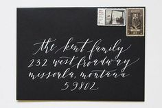Calligraphy Inspiration: Cast Calligraphy via Oh So Beautiful Paper