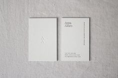 Business Cards - Anna Alfaro - Mery Garriga