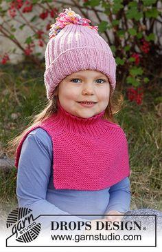 Rainbow Unicorn Set / DROPS Children 37-16 - Gratis strikkeopskrifter fra DROPS Design Baby Knitting Patterns, Free Knitting, Crochet Patterns, Cable Knitting, Baby Patterns, Drops Design, Knit Crochet, Crochet Hats, Crochet Diagram