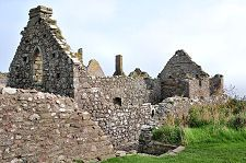 Dunnottar chapel ruins from the side Christmas In Scotland, Monument Valley, Castle, Castles