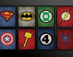 super heroes logos - Buscar con Google