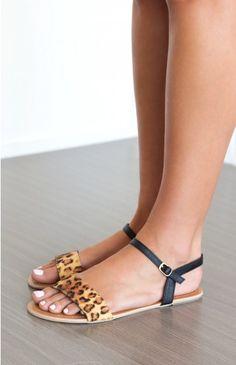 5bc82decc1b Billini Torah Sandals Leopard