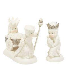 Another great find on #zulily! We Three Kings Figurine Set #zulilyfinds