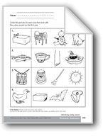 Phonemic Awareness: Ending Sounds. Download it at Examville.com - The Education Marketplace. #scholastic #kidsbooks @Karen Echols #teachers #teaching #elementaryschools #teachercreated #ebooks #books #education #classrooms #commoncore #examville