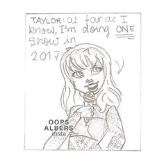 The Struggle of Being a Swiftie comic series by oopsalbers on Instagram (2/4)