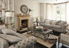 Modern Country Living Room Decorating Ideas Five Living Room Style Ideas Beautiful Living Rooms, Cozy Living Rooms, Living Room Modern, Interior Design Living Room, Country Style Living Room, Living Room Styles, Living Room Designs, Living Room Pictures, Lounge Furniture