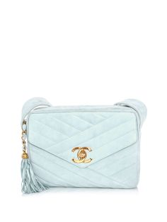 Chanel vintage envelope and tassel bag