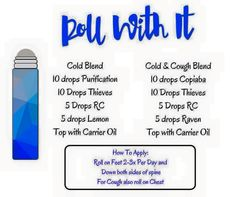 Cold and cough blends