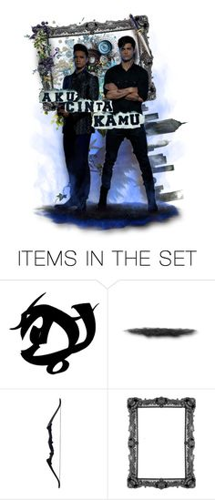 """~Malec~"" by andrea-villeda ❤ liked on Polyvore featuring art"