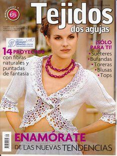knitting, pages 1 of 41 Moda Crochet, Knit Crochet, Ravelry, Crochet Magazine, Knit Fashion, Fabric Crafts, Crochet Necklace, Knitting, Magazines