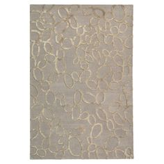Hand-tufted wool rug with an abstract geometric motif.  Product: RugConstruction Material: WoolColor...