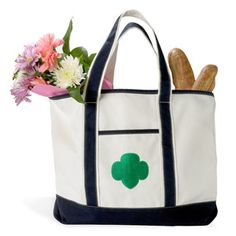 GIRL SCOUT BOAT TOTE BAG
