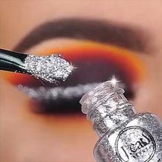 Makeup Eye Looks, Beautiful Eye Makeup, Eye Makeup Art, Crazy Makeup, Cute Makeup, Eyeshadow Looks, Eyeshadow Makeup, Hair Makeup, Makeup Drawing