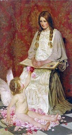 British Painter William Henry Margetson (1861-1940)