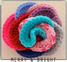 Crochet LOOPY ROSE Corsage.    http://www.etsy.com/listing/84967541/crochet-loopy-rose-corsage