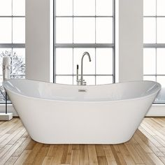 Freestanding Tubs With Deck Mount Faucets Find Like Buy Free