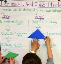 Classifying Shapes Using Tangrams (Blog Post) After making our own tangrams yesterday, we spent some time classifying polygons by their sides and angles.