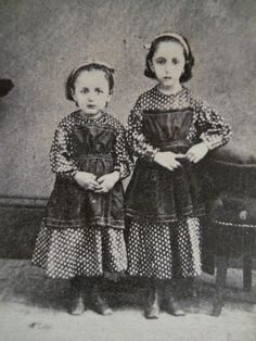 2 Pretty Little Girls~Matching Dresses~Civil War Era CDV Photo~Brookville PA   eBay - Visit to grab an amazing super hero shirt now on sale!