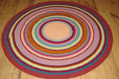 Round rug, 55'' (140 cm)/Rugs/Rug/Area Rugs/Floor Rugs/Large Rugs/Handmade Rug/Carpet/Wool Rug by AnuszkaDesign on Etsy