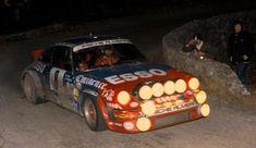 RALLYE MONTE CARLO 1982 3º Jean-Luc Therier - PORSCHE 911 SC