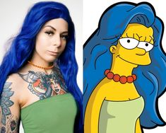 Marge Simpsons by Maddi Cosplays Tattoo Memes, Image Macro, The Simpsons, Ronald Mcdonald, Aurora Sleeping Beauty, Cosplay, Disney Princess, Disney Characters, People