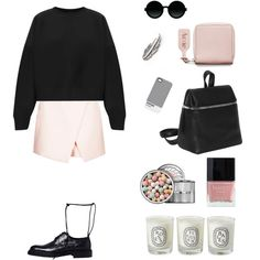 """plack and bink"" by gleaniaw on Polyvore"