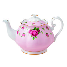 Royal Albert New Country Roses - Vintage Pink Formal Teapot