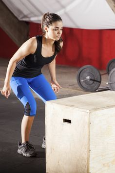 Test your speed and agility with these box jump exercises.