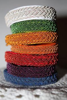 sami tin thread bracelets.
